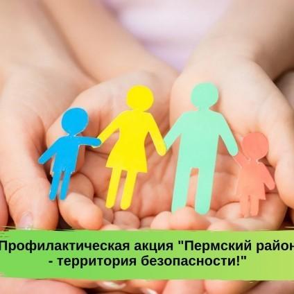 В Пермском муниципальном районе стартовала традиционная акция «Пермский район – территория безопасности»